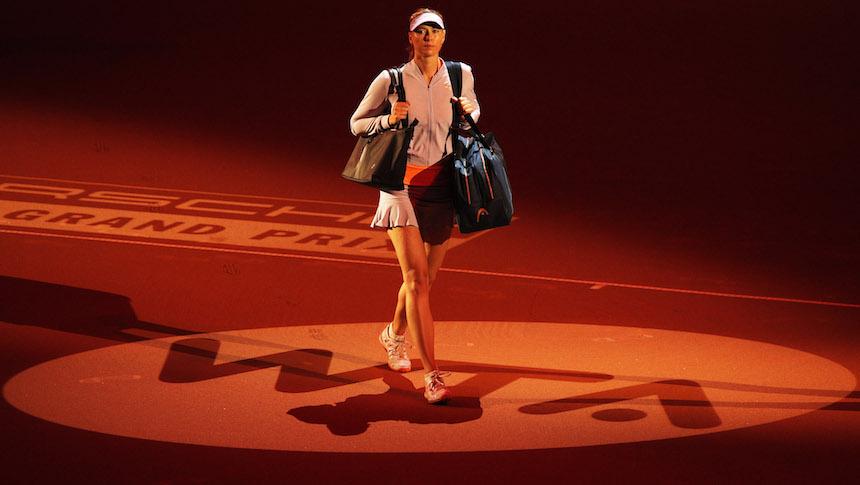 Galería: Maria Sharapova regresó a las canchas y lo hizo ganando