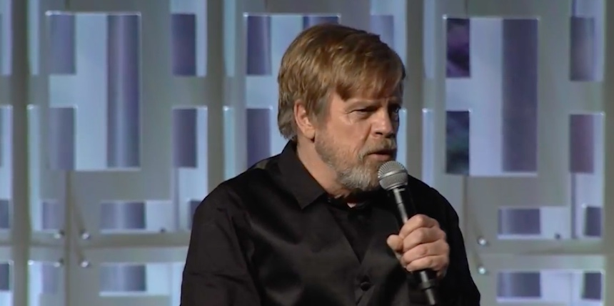 Mark Hamill - Panel de The Last Jedi