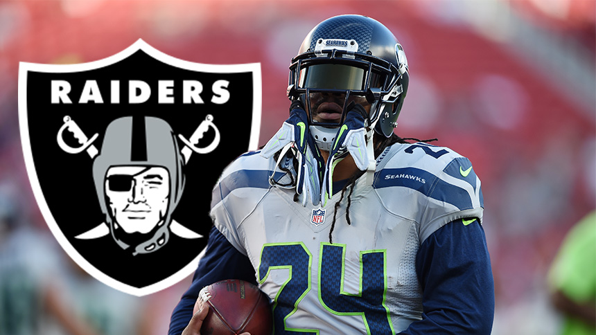 ¡Marshawn Lynch jugará para los Oakland Raiders!