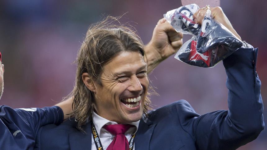 Matías Almeyda celebró el título de Copa MX ¿con una chiva?