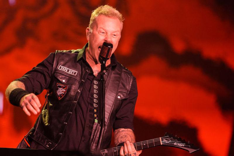 #Respect: Metallica repone los instrumentos robados a una banda tributo