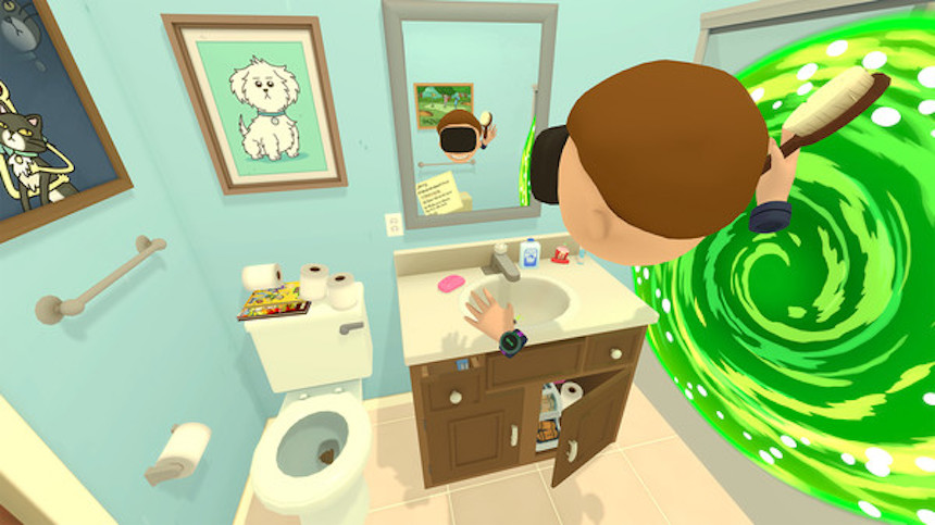 Juego VR de Rick and Morty