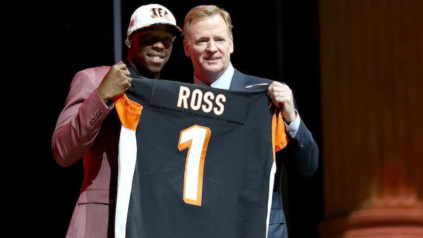 Las cinco mejores selecciones de la primera ronda en el NFL Draft