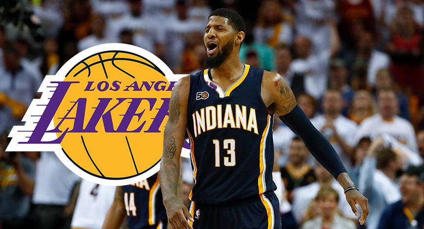 Magic Johnson lo admitió ¡Quiere a Paul George en los Lakers!