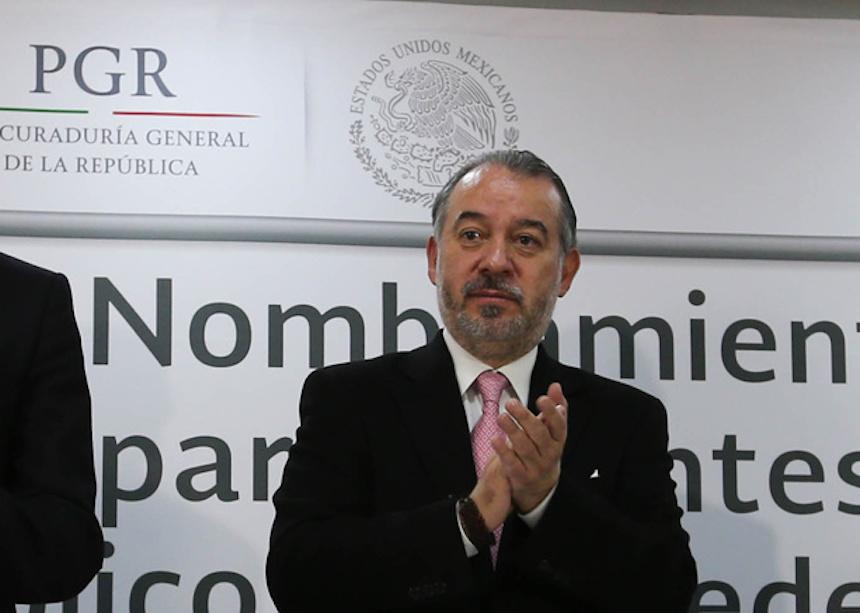 Raúl Cervantes Andrade, titular de la PGR