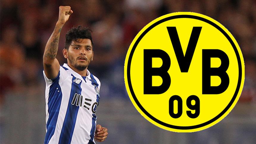 Tecatito Corona está en la mira del Borussia Dortmund