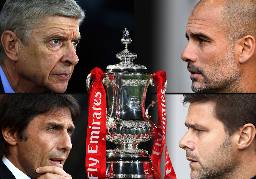 La FA Cup paraliza Londres: Chelsea vs Tottenham y Arsenal vs Manchester City