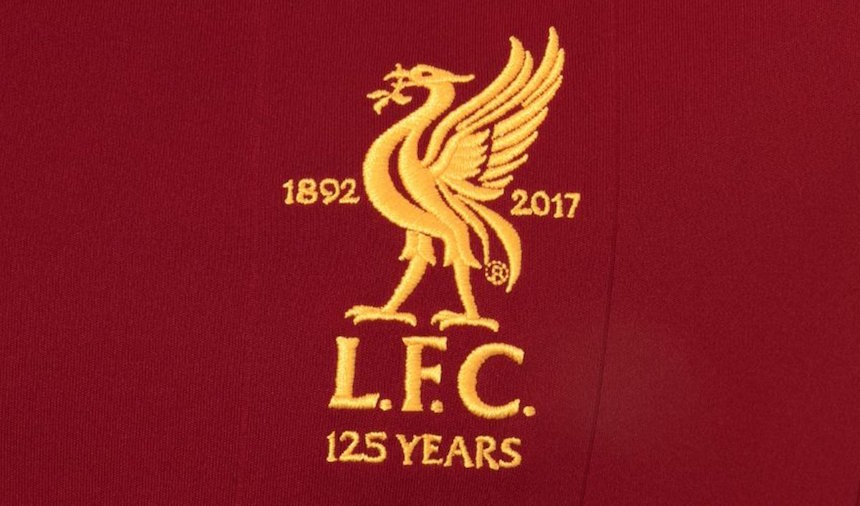 uniforme liverpool 125 aniversario