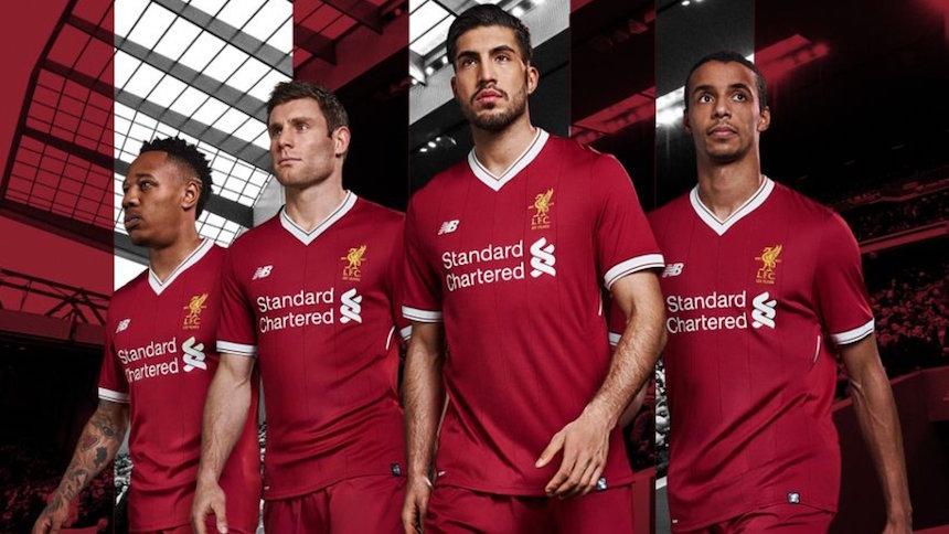 ¡Liverpool presentó uniforme por sus 125 años y es hermoso!