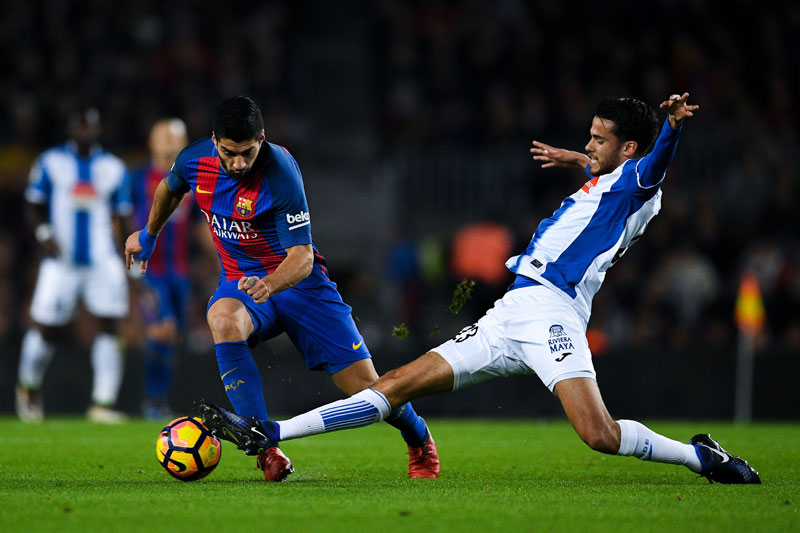 Defensa mexicano Reyes nominado como mejor central de Liga de España 2016