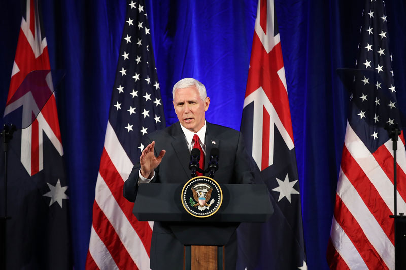 Mike Pence Vicepresidente Estados Unidos