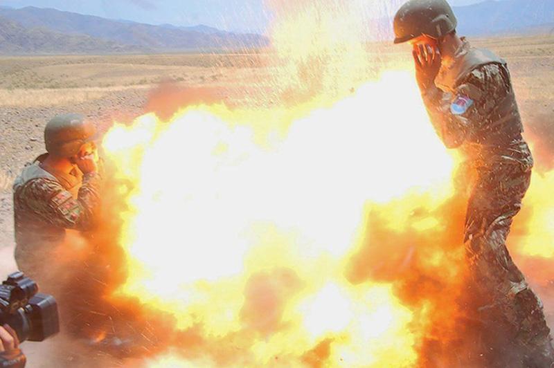 Foto Explosión Afganistan