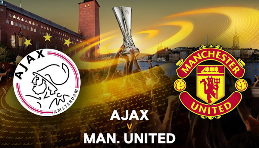 En vivo: Ajax vs Manchester United por el título de la Europa League