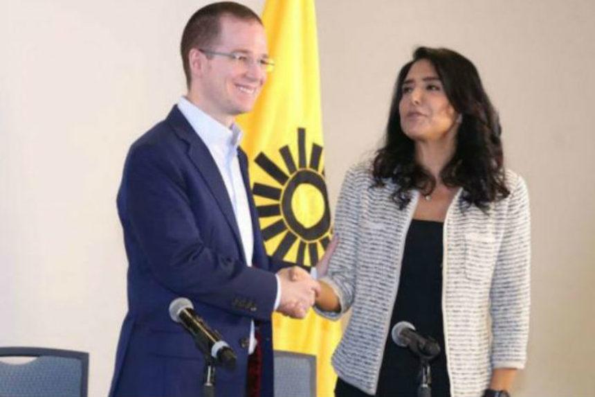 Alejandra Barrales y Ricardo Anaya: PAN y PRD en alianza