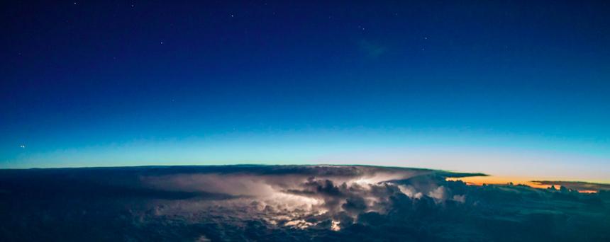Cielo en el amanecer
