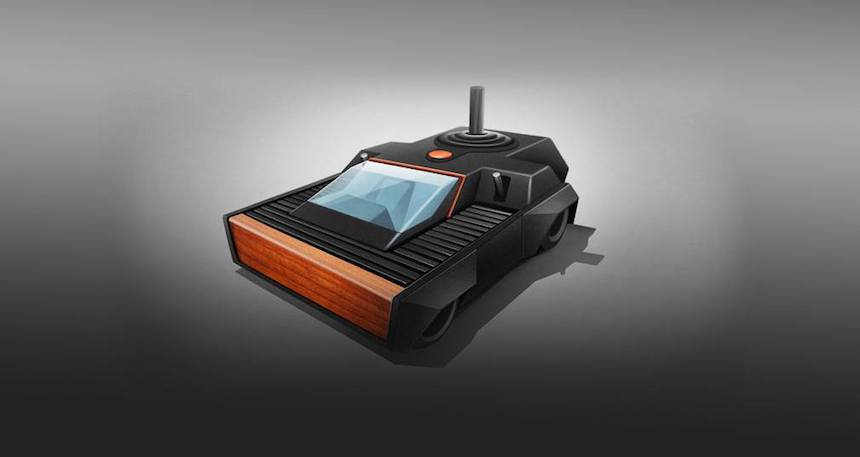 Videojuegos - Auto Atari