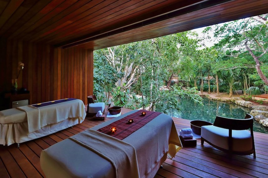 Yucatán - El spa del Chablé