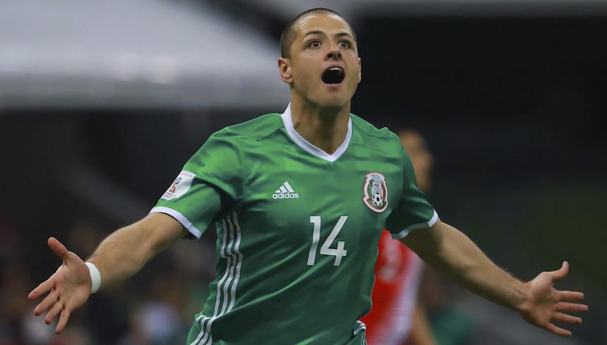Chicharito Hernández rompe el récord de Jared Borgetti