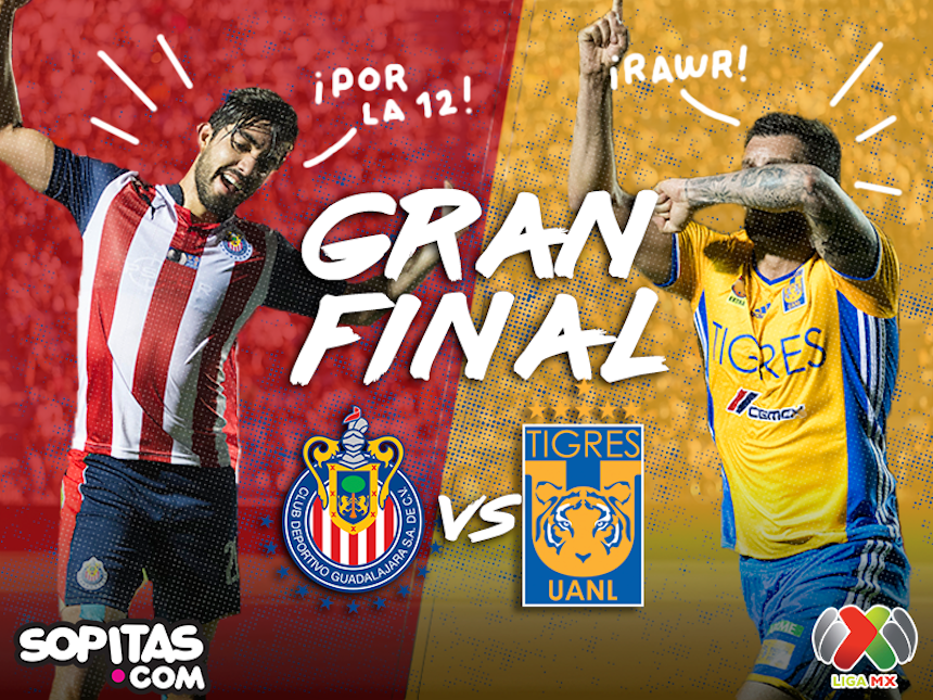 Sigue la Gran Final en vivo aquí: Chivas vs Tigres