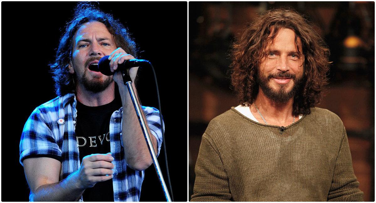 Miren el emotivo homenaje de Eddie Vedder a Chris Cornell