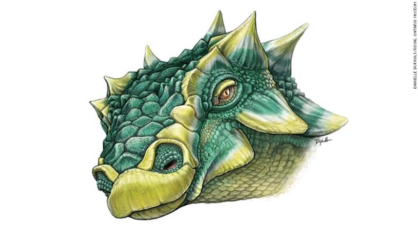 Zuul - Dinosaurio nombrado por Ghostbusters