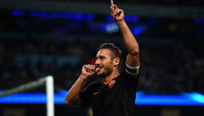 Así fue el último entrenamiento de Francesco Totti con la Roma