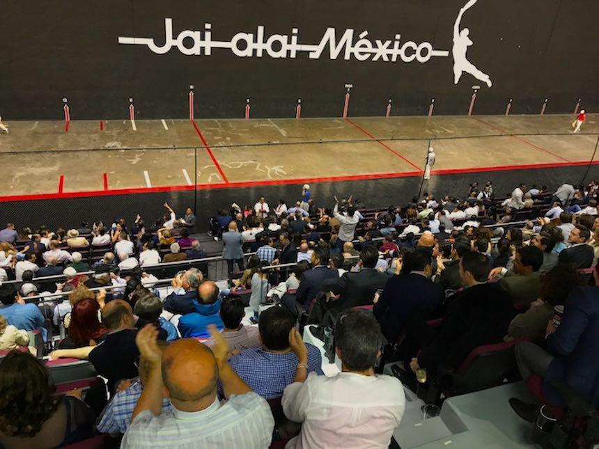 Frontón México - Gente