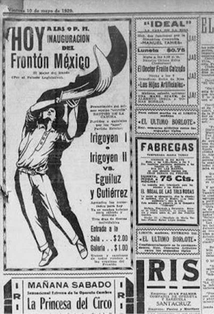 Vagando - Inauguración del Frontón México
