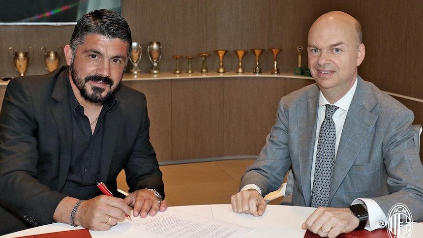 Gennaro Gattuso está de vuelta con el AC Milan