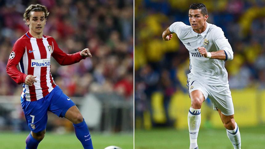 Sigue aquí el Real Madrid vs Atlético de Madrid de la Champions League