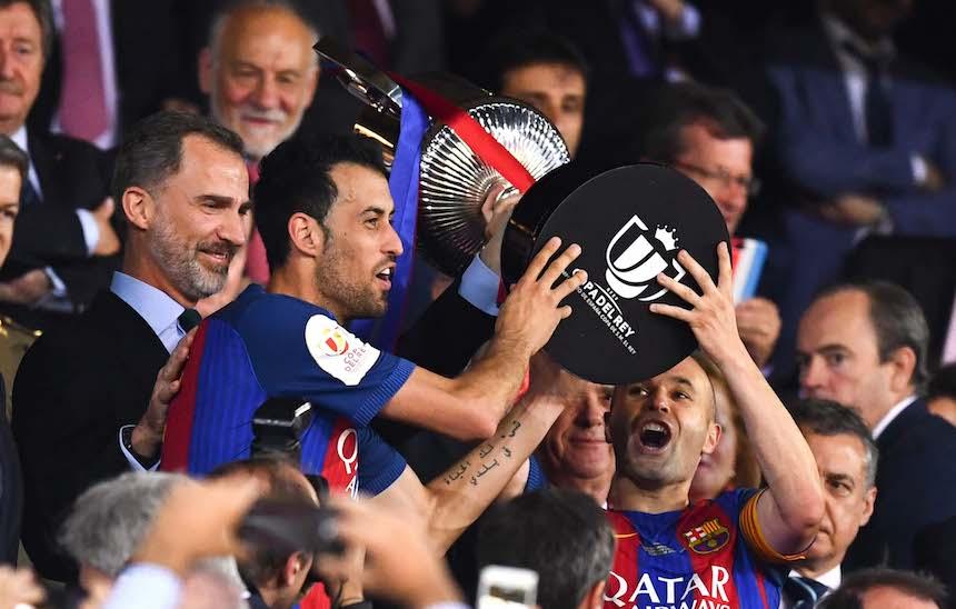 Barcelona: Otra Copa, un adiós y siempre Messi