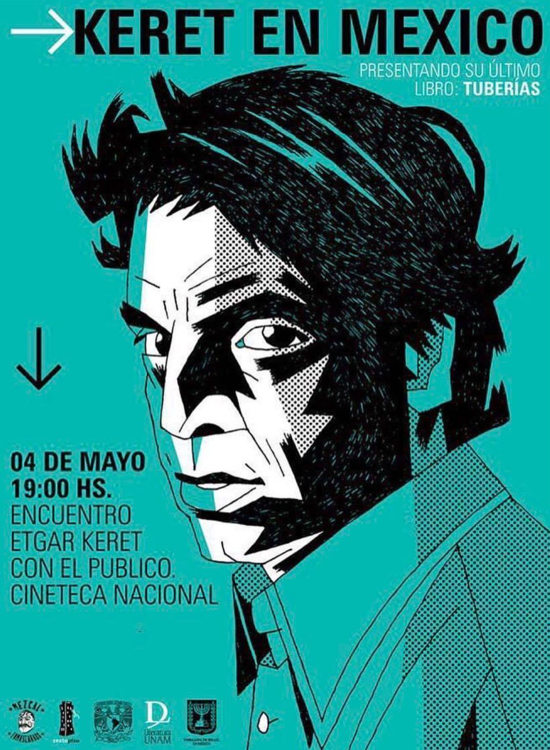 póster de la presentación de Keret en la Cineteca Nacional