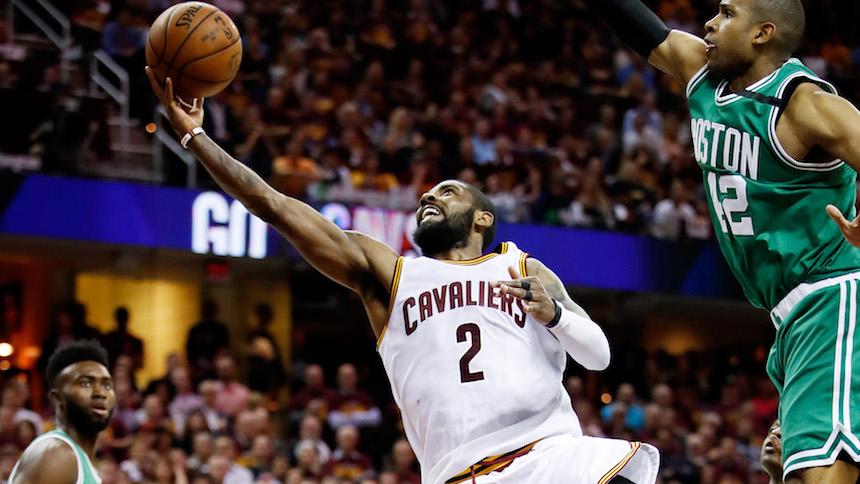 Cuando LeBron James no está para los Cavaliers, sale Kyrie Irving