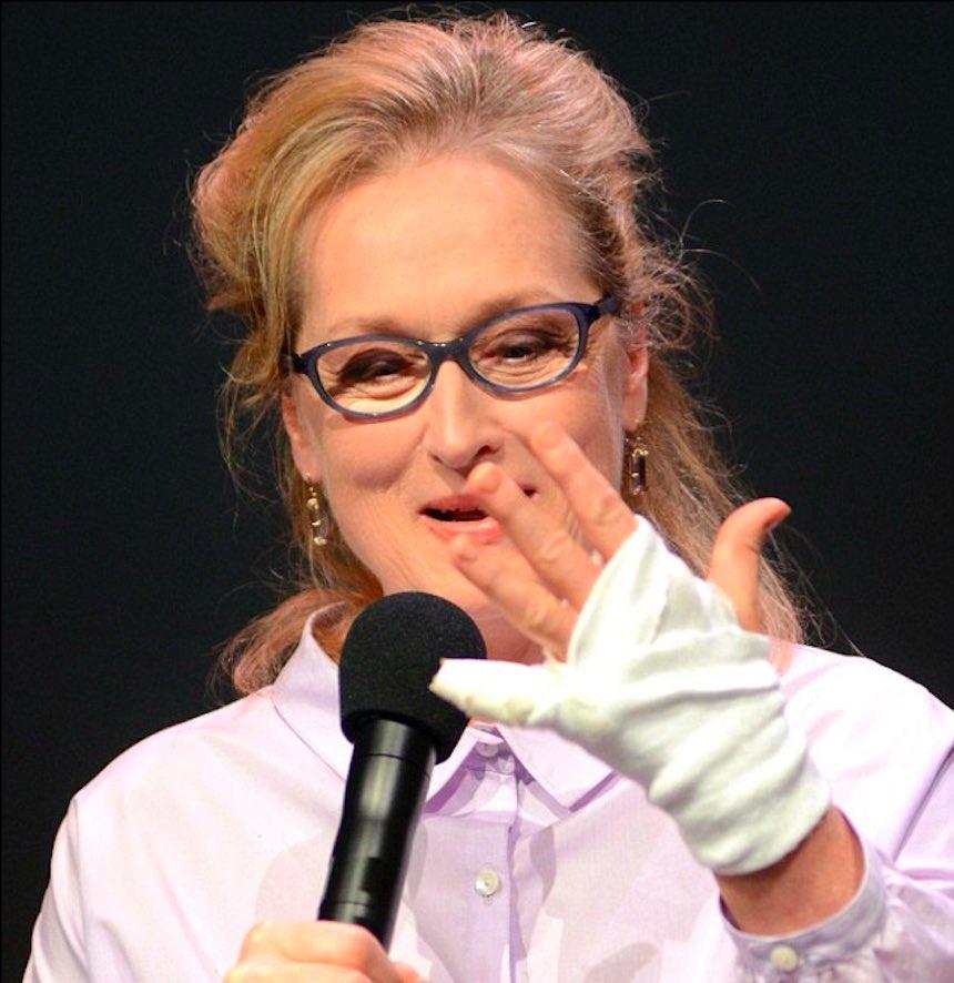 Meryl Streep y su corte por aguacate