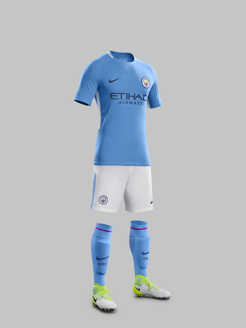 nuevo uniforme manchester city 2018