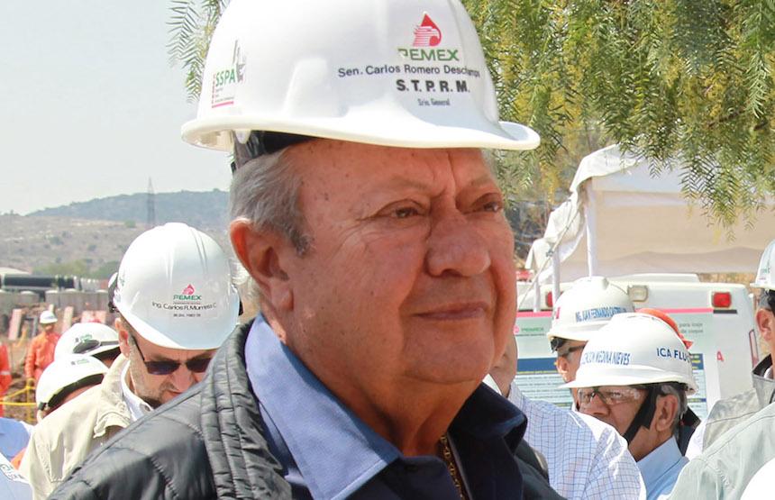 Carlos Romero Deschamps, líder del sindicato petrolero