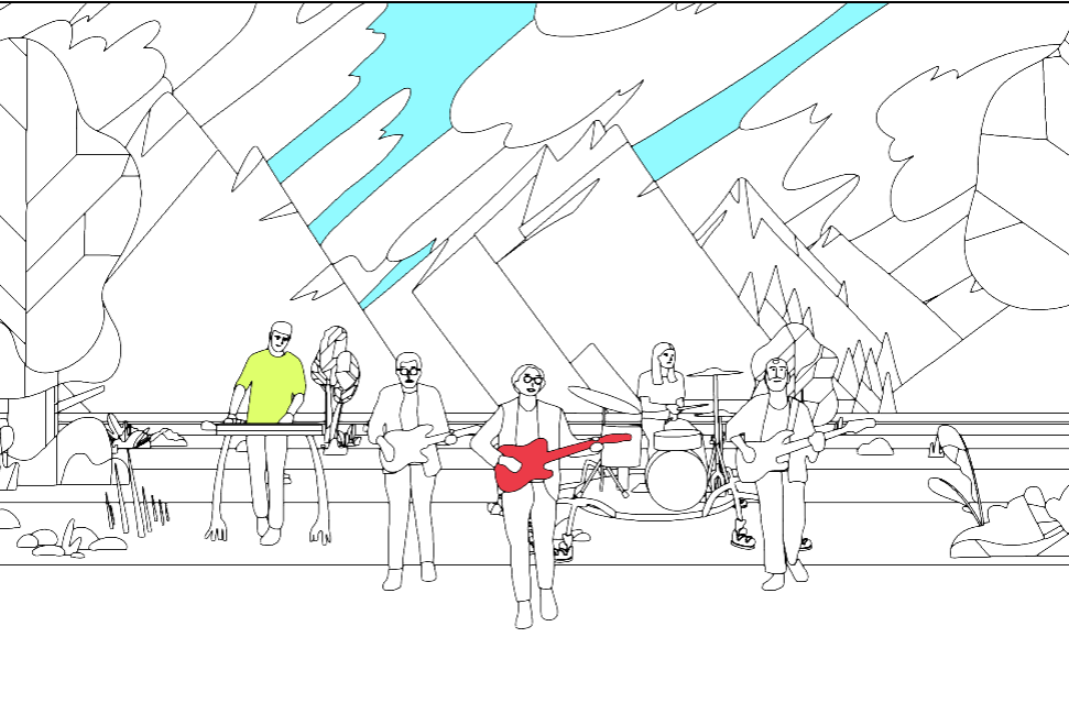Pasarás horas y horas coloreando el nuevo video de Real Estate