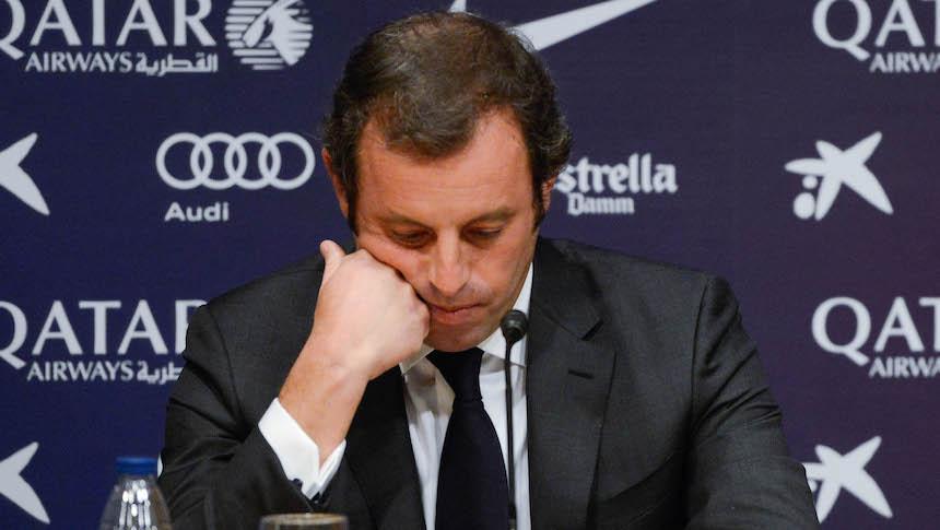 Sandro Rosell detenido por lavar 15 millones de euros