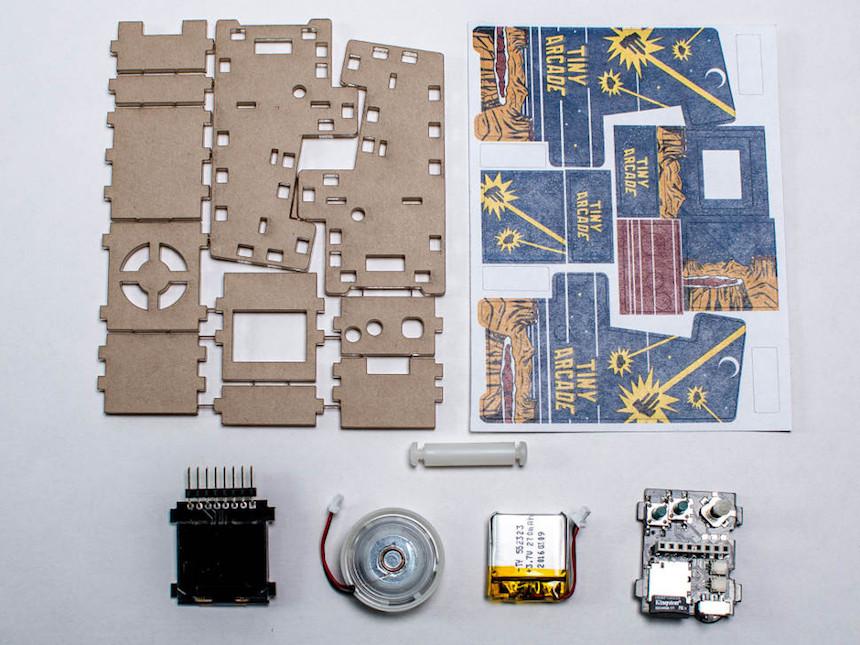 TinyArcade - Componentes separados