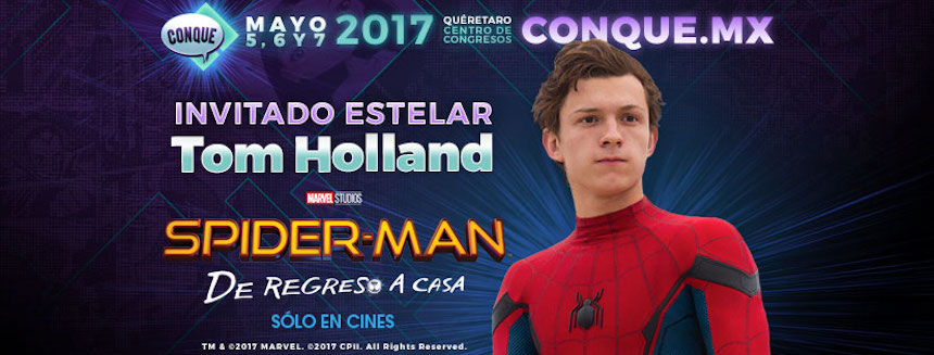 Tom Holland en la CONQUE 2017