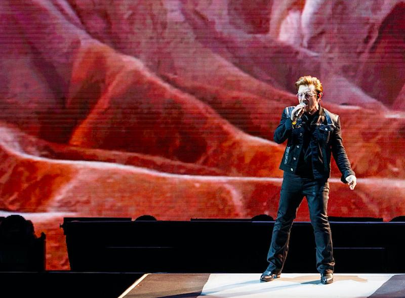 Escucha la nueva canción que U2 entrenó en el show de Jimmy Kimmel