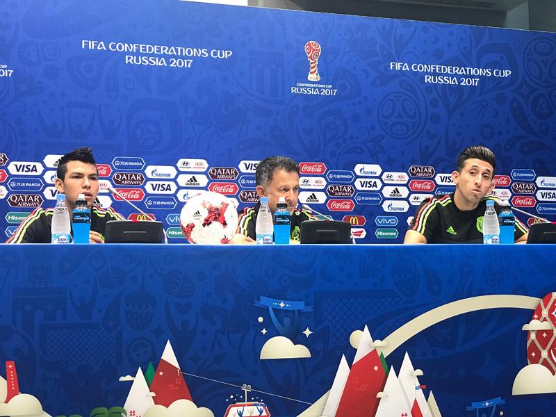 Conferencia de Prensa de Juan Carlos Osorio Copa Confederaciones