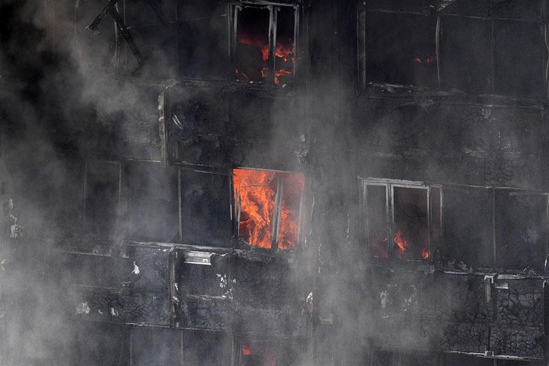 Incendio Londres Torre