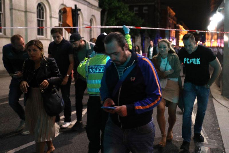 Doce detenidos por ataque terrorista en Londres