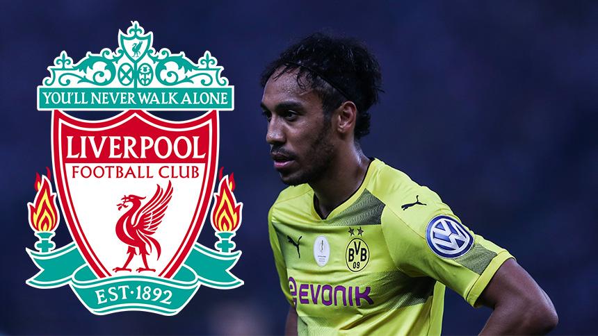 ¡Bam! Los dueños del Liverpool quieren a Aubameyang en el equipo