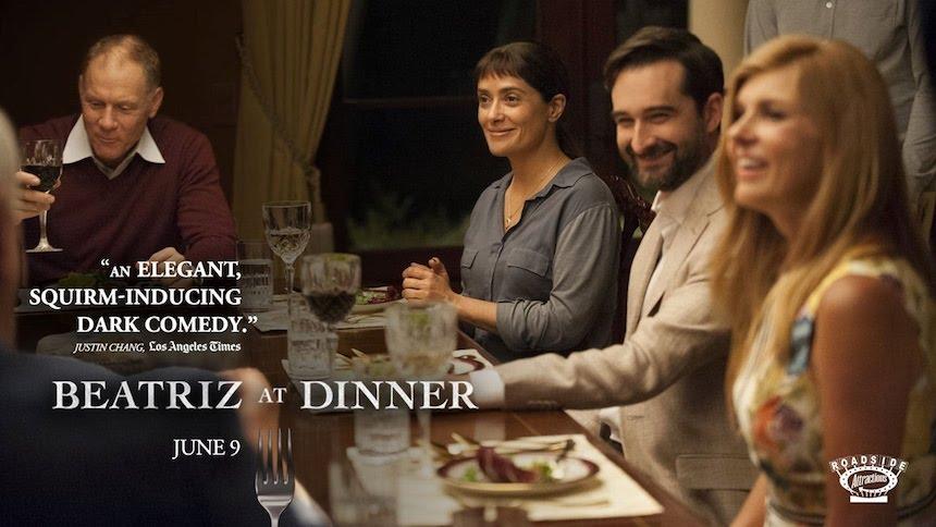 Beatriz at Dinner - Póster con Salma Hayek