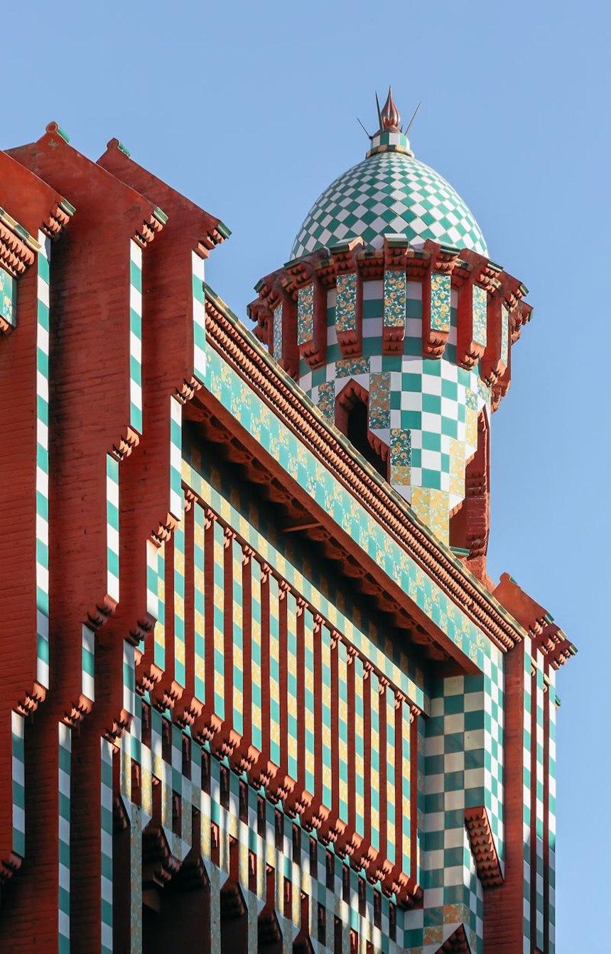 Casa de Antonio Gaudí - Torres
