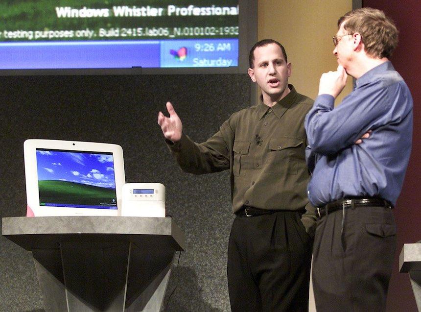 Bill Gates en la Consumer Electronics Show