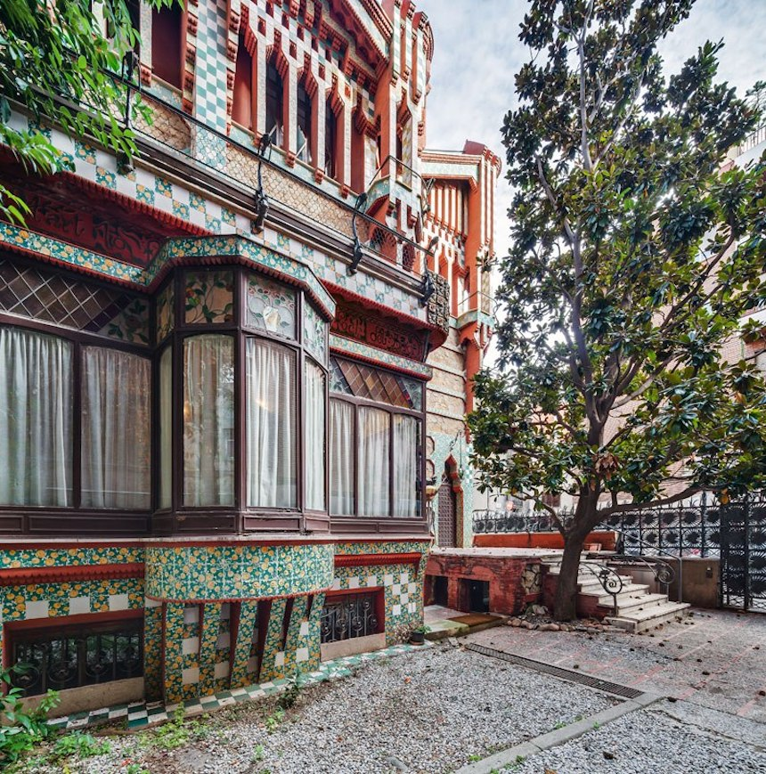 Casa de Antonio Gaudí - Otra vista exterior