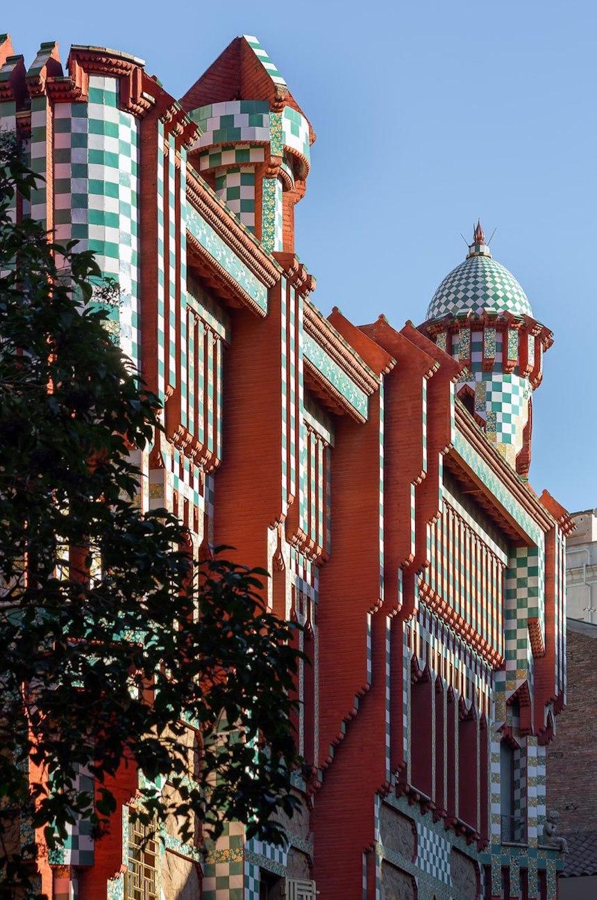 Casa de Antonio Gaudí - Arquitectura